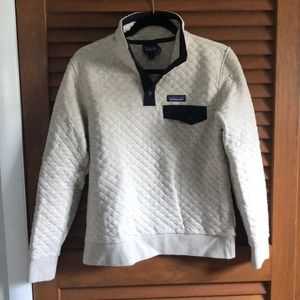 Women's Patagonia organic cotton quilt pullover